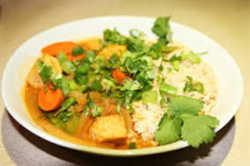Red Thai Curry Vegetables